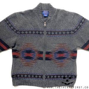 Pendleton Wool Southwest Cardigan